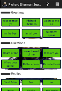 Richard Sherman Soundboard - screenshot thumbnail