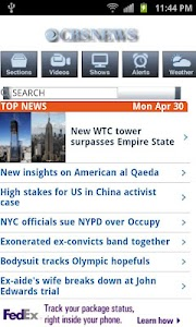 World News screenshot 2