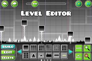 Screenshot of Geometry Dash