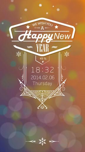 New Year Live Locker Theme