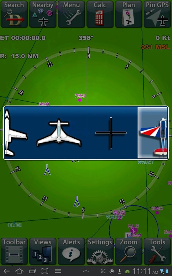 Anywhere Map--Aviation GPS - screenshot