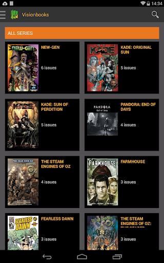 玩免費漫畫APP|下載Visionbooks Comic Reader app不用錢|硬是要APP