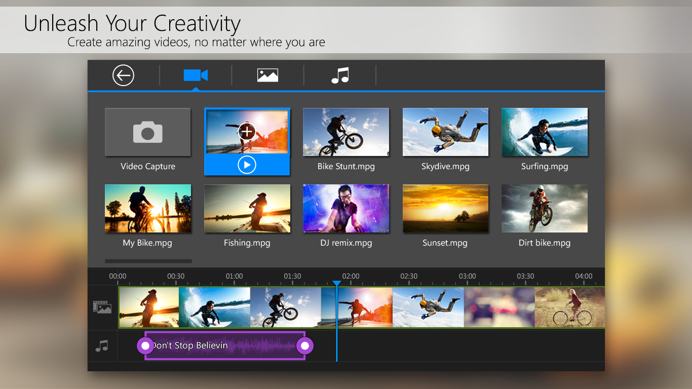 PowerDirector Video Editor App- screenshot