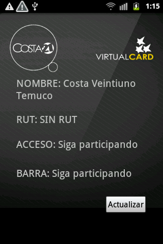 Costa 21 - screenshot