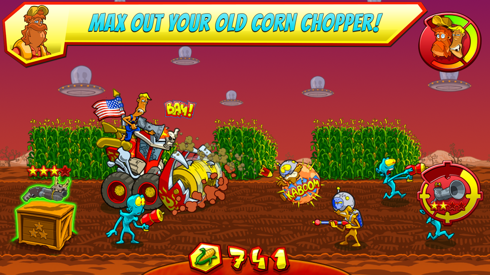 Farm Invasion USA - screenshot