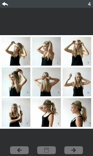 Hairstyle Step by Step - 1