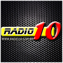 Radio 10 – A rádio pop rock! logo