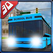 3D High School Bus Simulator