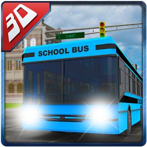 3D High School Bus Simulator for PC and MAC