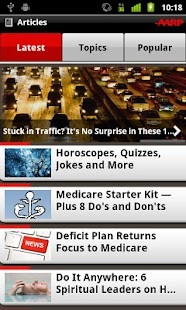 AARP - screenshot thumbnail