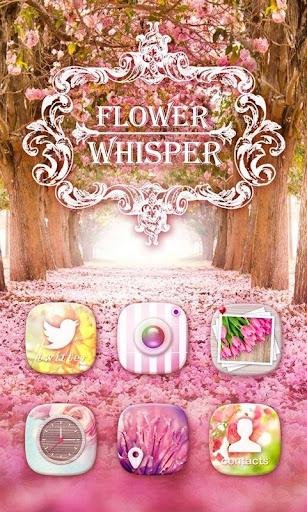 Flower Whisper GO Theme