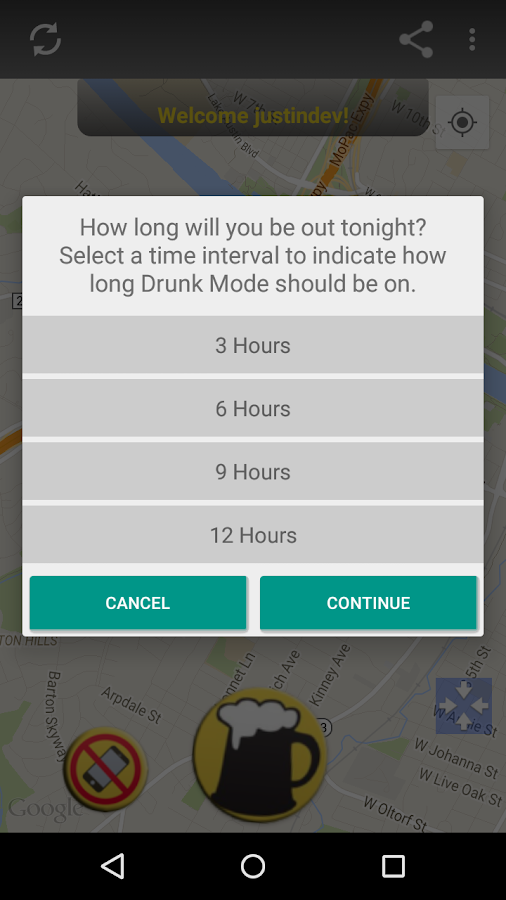 Drunk Mode: Drunk Party Safety- screenshot