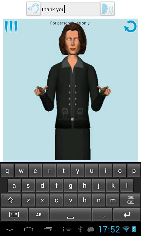 Mimix -Speech to Sign Language - screenshot