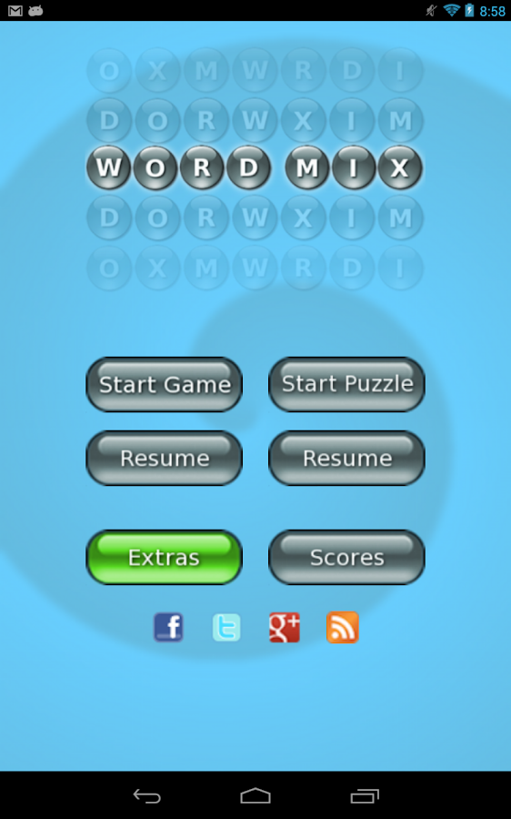 Word Mix ™- screenshot