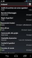 Screenshot of Ricettario Tascabile | Ricette
