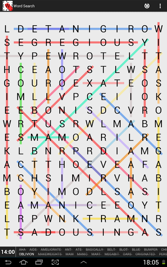 Word Search Classic - screenshot