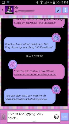 【免費個人化App】GO SMS - SCS217-APP點子