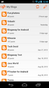 Blogaway Pro (Blogger)- screenshot thumbnail