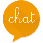 EvolveSMS Theme-BH Chat Orange