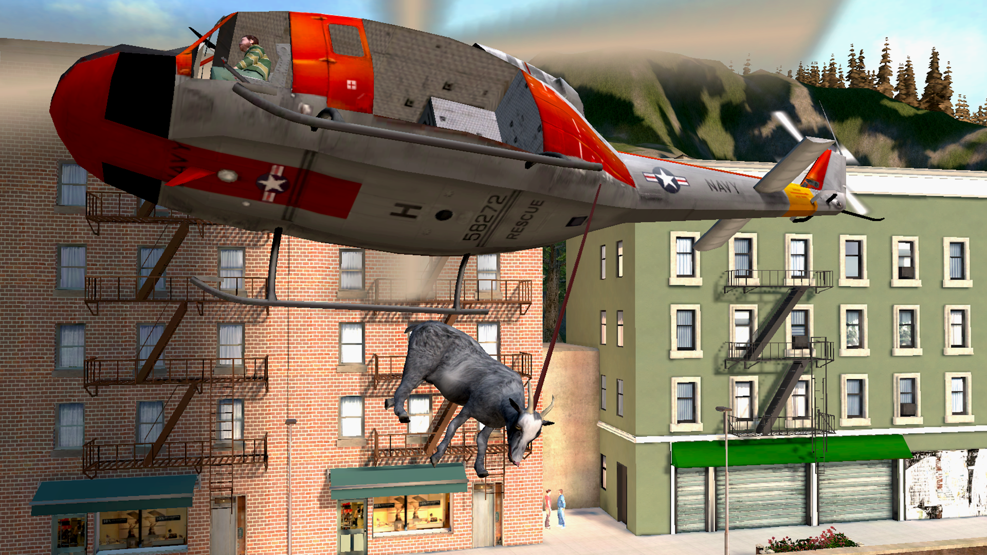 Goat Simulator screenshot #4