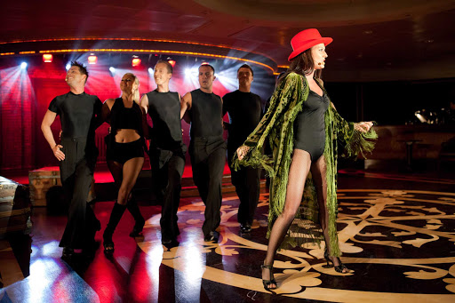 Azamara-Ship-Broadway - Azamara features the razzle dazzle of Broadway shows during your Azamara sailing.