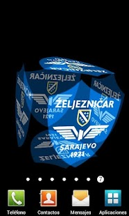 3D Zeljeznicar Sarajevo LWP - screenshot thumbnail