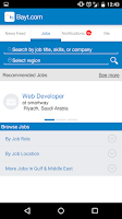 Screenshot of Bayt.com Job Search