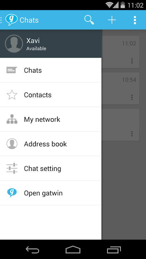 g messenger- screenshot