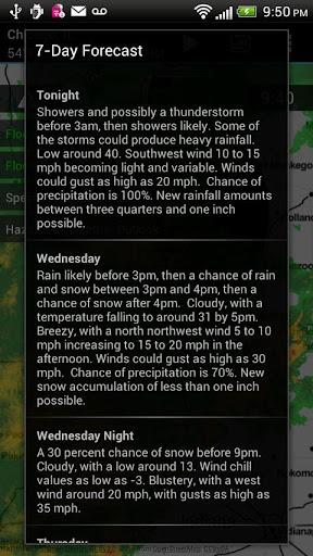 玩免費天氣APP|下載Radar Express - Weather Radar app不用錢|硬是要APP
