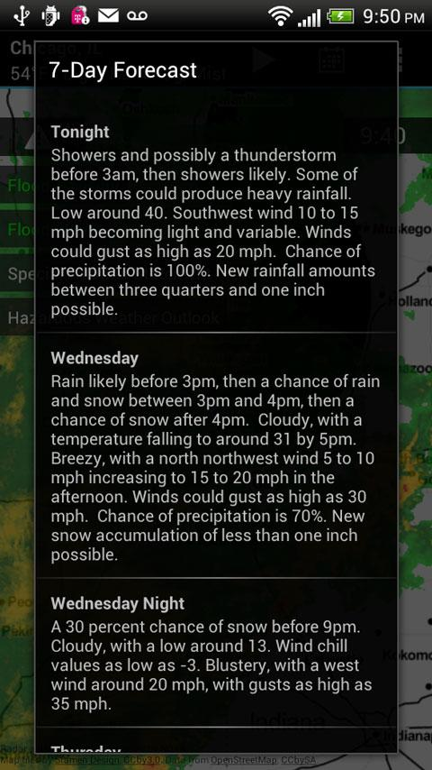 Radar Express - NOAA Weather - screenshot