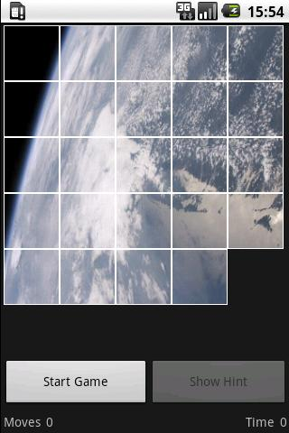 15 Puzzle Space - screenshot