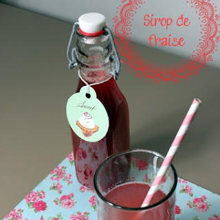 Strawberry Syrup.