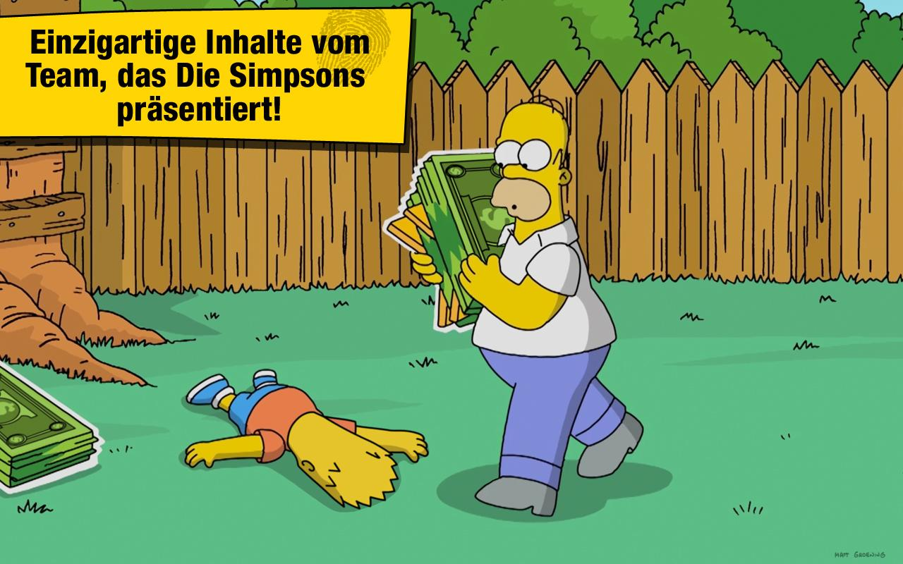 die Simpsons™ Springfield – Screenshot
