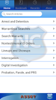 Screenshot of ASSET: Arrest-Search-Seizure