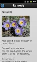 Screenshot of MedicineCabinet XXL Homeopathy