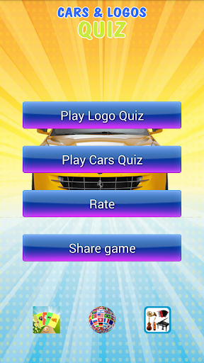 Funny cars and logos quiz
