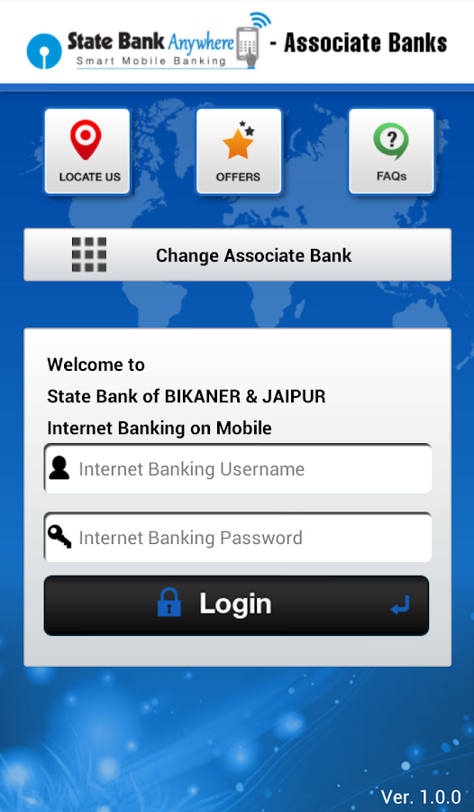 State Bank Anywhere-Asso Banks- screenshot