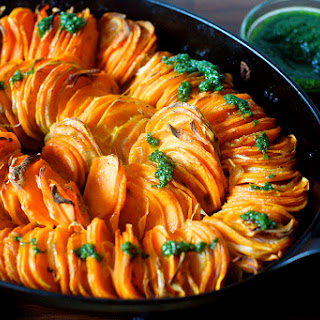 Crispy Sweet Potato Roast