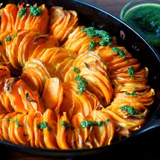 Crispy Sweet Potato Roast