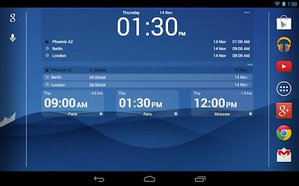 Bob's World Clock Widget Screenshot 10