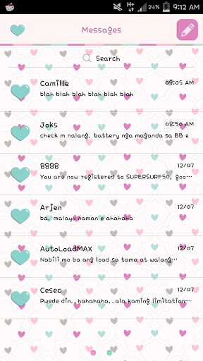 Sherby Hearts GO SMS
