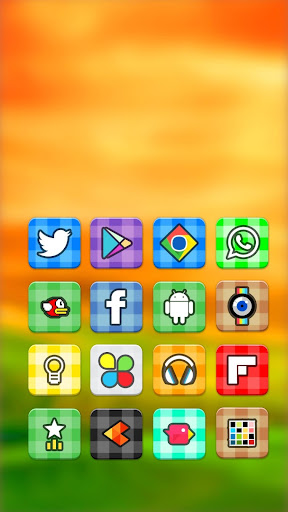 Vitro Flat Icon Pack Theme