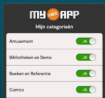 Screenshot of My Free App (Gratis)