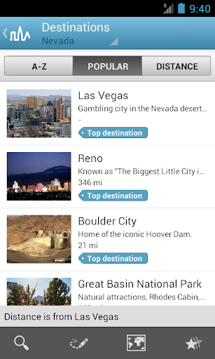 Nevada Travel Guide by Triposo