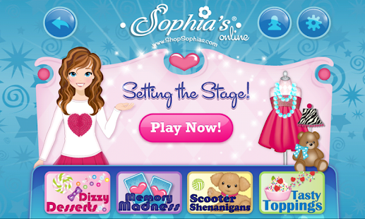 Sophia's Dolls & Games Online- screenshot thumbnail