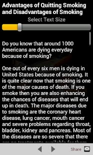 Quit Smoking Tips- screenshot thumbnail