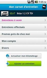 Carnet Entretien Auto- screenshot thumbnail