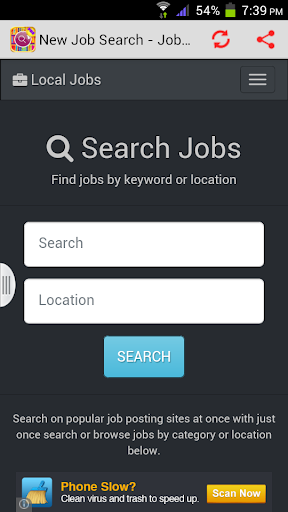 New Job Search - Jobs Today