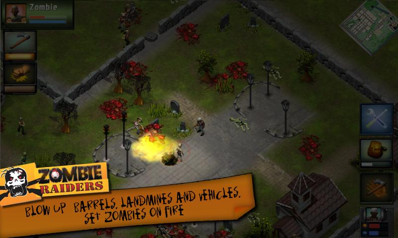 Zombie Raiders Classic - screenshot