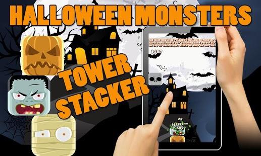 Halloween Monsters Stack Kids